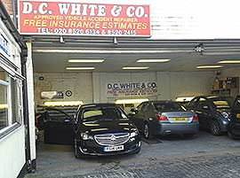 DC White garage